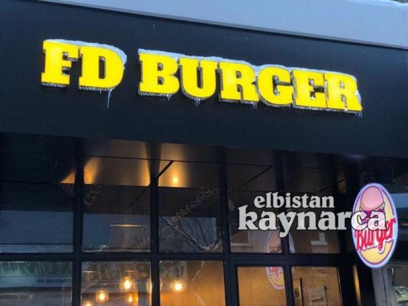 FD Burger hizmet vermeye başladı