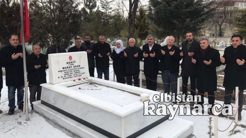AK Parti ve MHP'den, milli mücadele kahramanları ve şehit kabri ziyareti