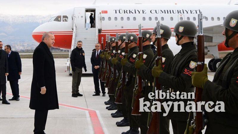 Cumhurbaşkanı Erdoğan, Kahramanmaraş'ta