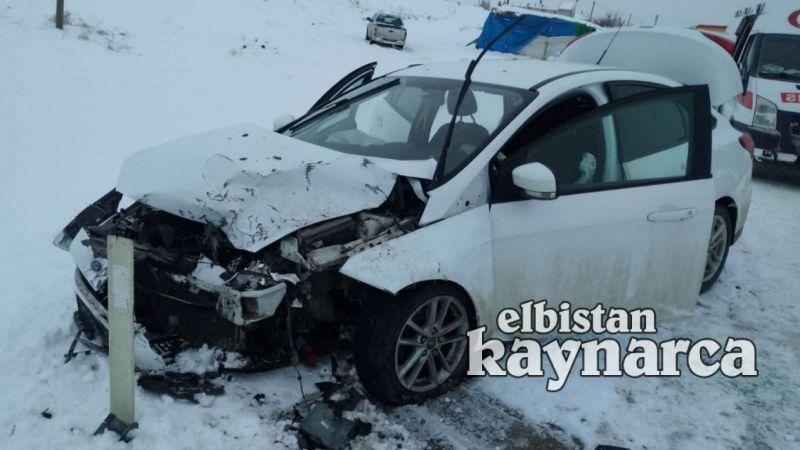 Akçırı'da kaza: 5 yaralı