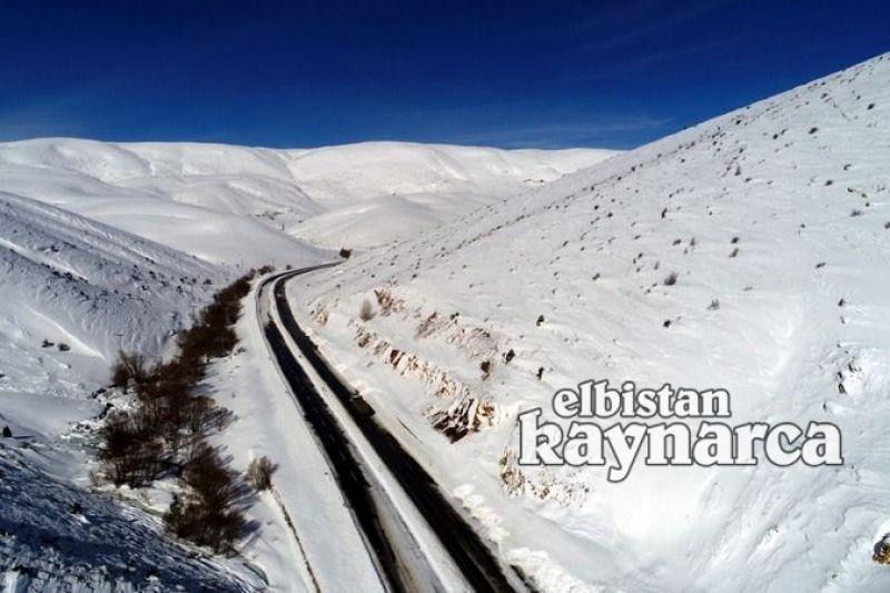 Çığın kapattığı Kayseri-Kahramanmaraş yolu ulaşıma açıldı
