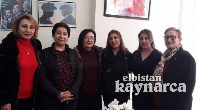 CHP Elbistan Kadın Kolları'nda bayrak değişimi