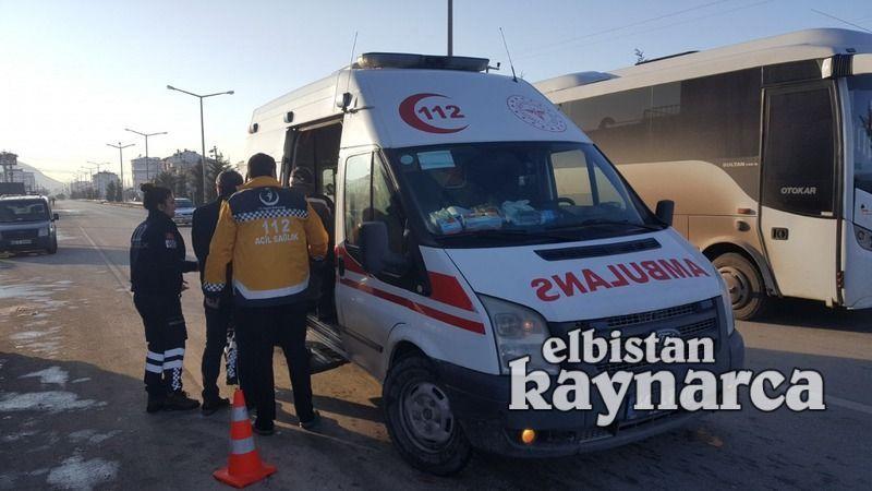Adnan Menderes Bulvarı'nda kaza: 1 yaralı
