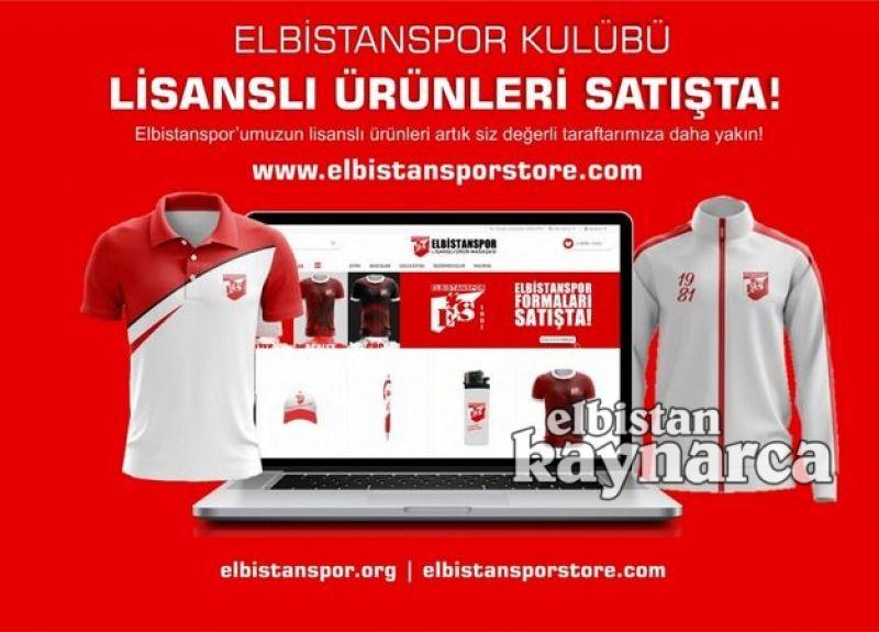 Elbistanspor Store, internet mağazası açıldı