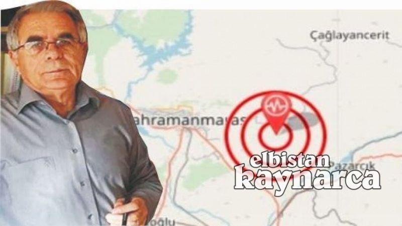 Prof. Dr. Bingöl'den Kahramanmaraş için korkutan uyarı