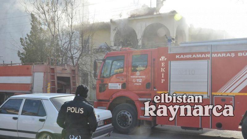 Ev yangını itfaiyenin müdahalesi ile söndürüldü