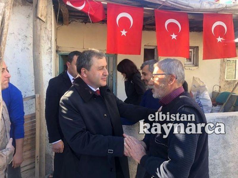 Kaymakam Demir'den şehit Ceyhun Taş'ın ailesine ziyaret