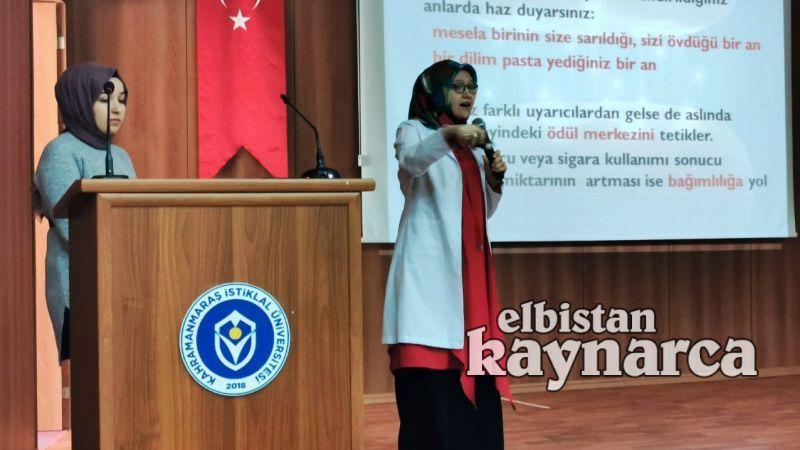 EMYO'da bağımlılıkla mücadele konferansı