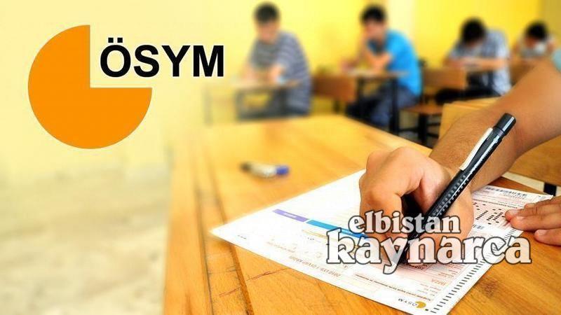 Elbistan'da 6 bin 448 üniversite adayı YKS'de ter dökecek