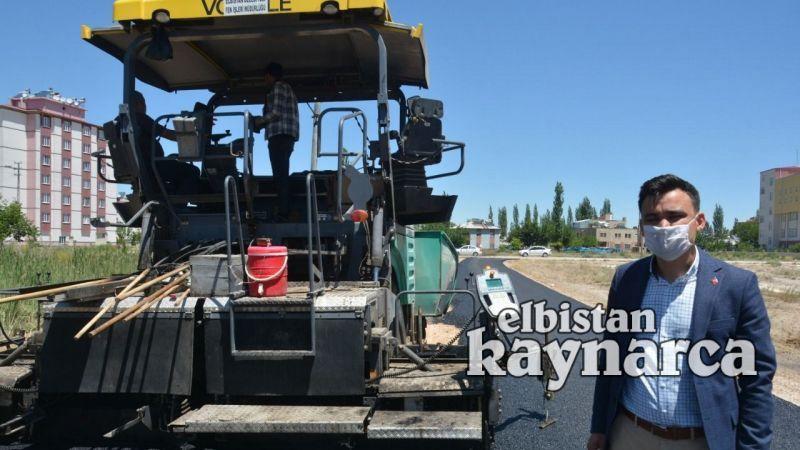 Elbistan Belediyesi, 45 kilometrelik asfalt programına başladı