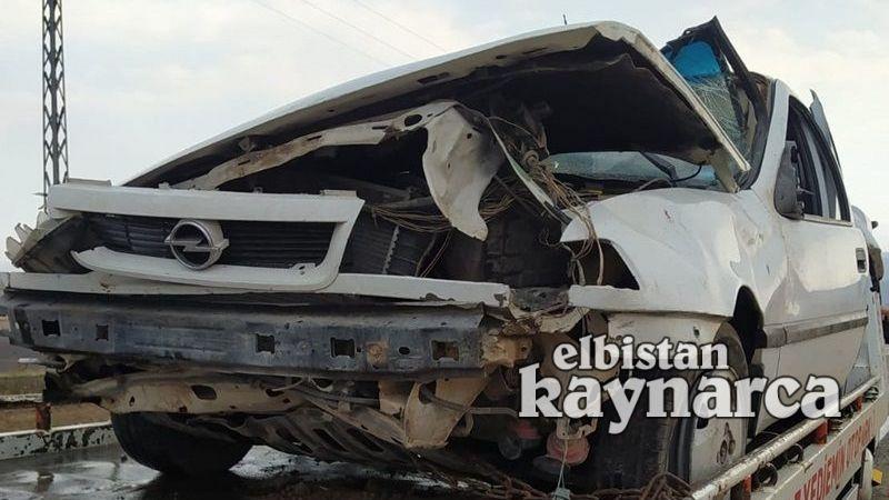 Lastiği patlayan otomobil takla attı: Ağabey ve kardeşi yaralandı
