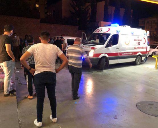 Kahramanmaraş'ta bıçaklı kavga: 1 yaralı