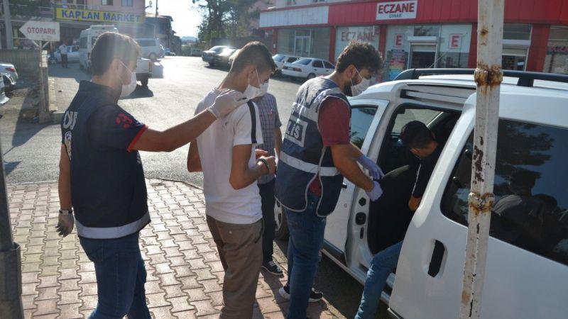 Kahramanmaraş'ta hırsızlık operasyonunda yakalanan 10 kişi tutuklandı