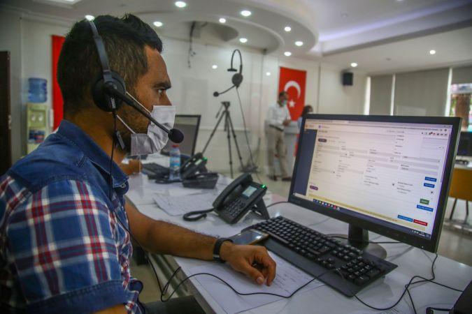 Kovid-19 Çağrı Merkezi ile evde test ve tedavi imkanı