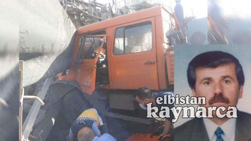 AEL'de freni patlayan kamyon bant yoluna çarptı: 1 ölü 3 yaralı