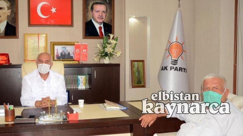 Ziraat Odası'ndan AK Parti ve MHP'ye hayırlı olsun ziyareti
