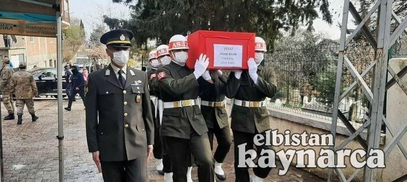 Türkoğlulu astsubay Aslan, son yolculuğuna uğurlandı