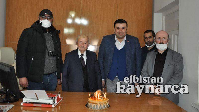 Özer ve Şahin'den Mehmet Göçer'e Gazeteciler Günü ziyareti