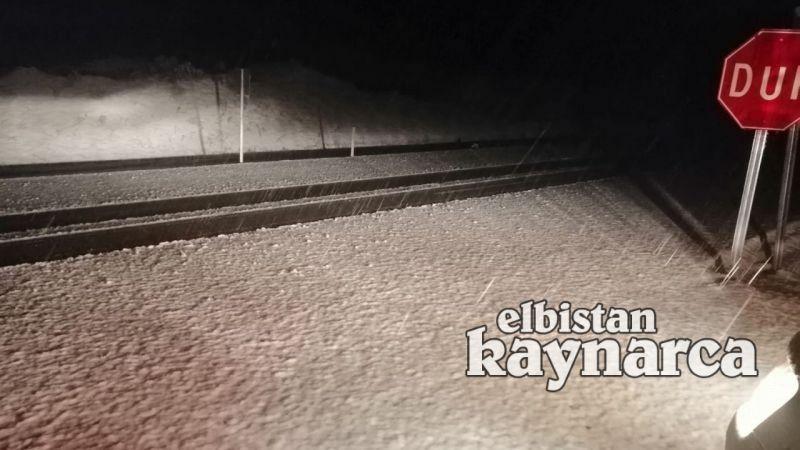 Yoğun kar ulaşımda aksamalara neden oluyor