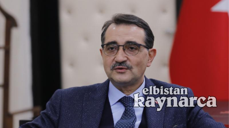 """Enerji Bakanı Dönmez: """"Doğru bildiğimiz yolda gitmeye kararlıyız"""""""