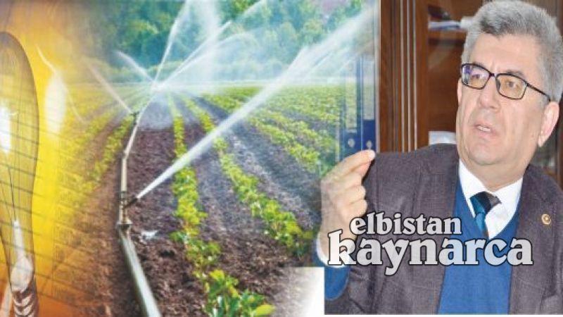 Aycan, çiftçinin su ve elektrik faturası sorununa çözüm istedi