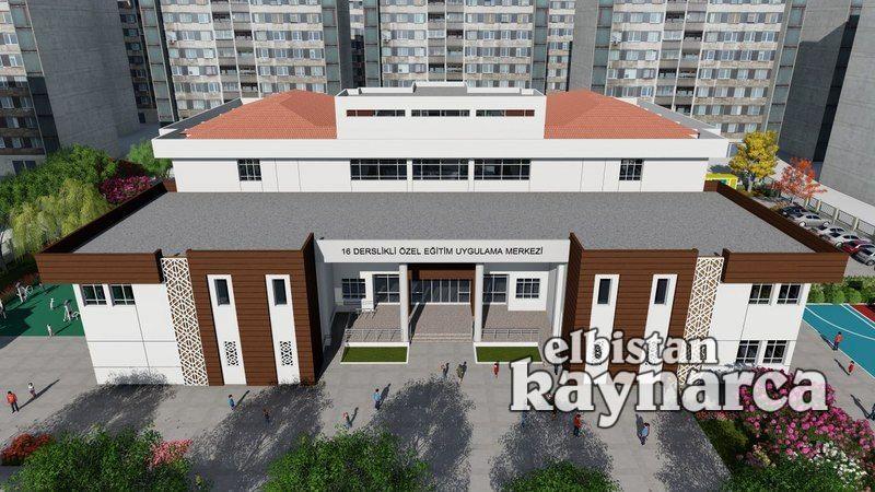 Elbistan'a 16 derslikli özel eğitim uygulama merkezi yapılacak