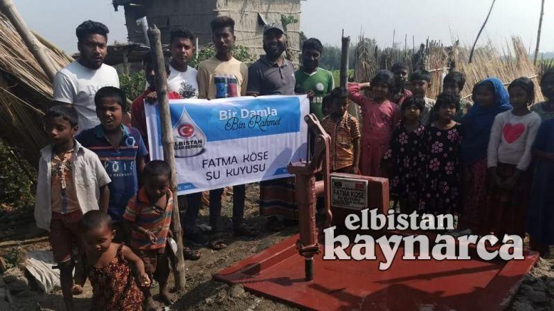 Fatma teyzenin vasiyeti Bangladeş'e can suyu oldu