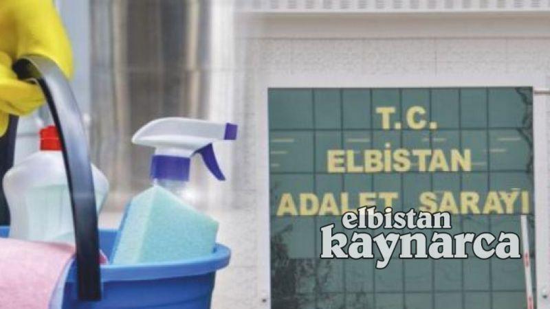 Elbistan Adliyesi'ne temizlik personeli alınacak