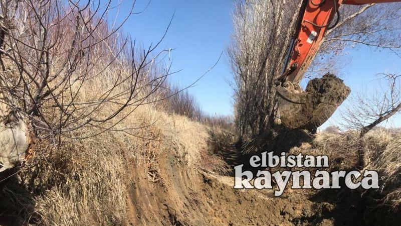 Elbistan Belediyesi, çiftçinin yardımına koştu