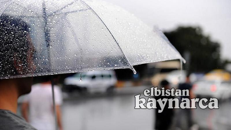 Elbistan'da sağanak yağış etkili olacak