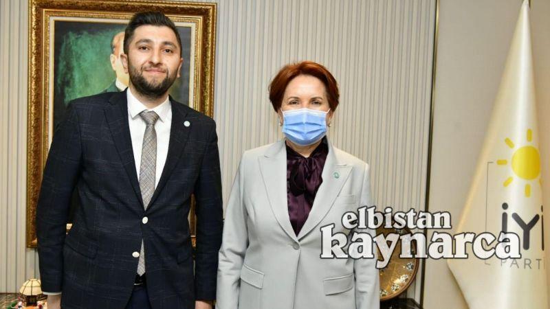 İYİ Parti Genel Başkanı Akşener'i Elbistan'a davet ettiler