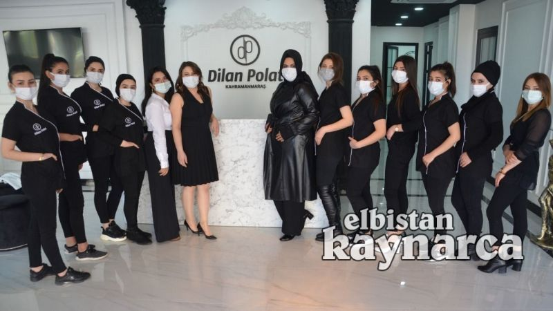 Dilan Polat Güzellik Merkezi açıldı