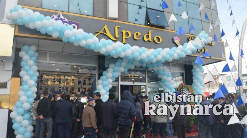 Alpedo Elbistan Şubesi törenle hizmete açıldı
