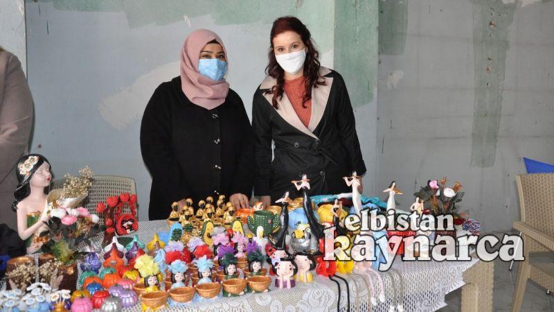 Elbistan Belediyesi'nden mikrokredi üyesi kadınlara pazar alanı