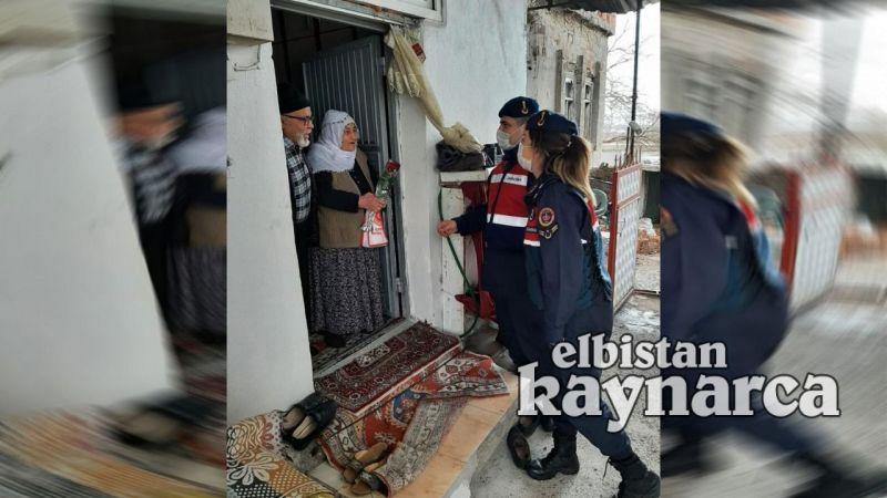Jandarmadan yaşlılara ahde vefa ziyareti