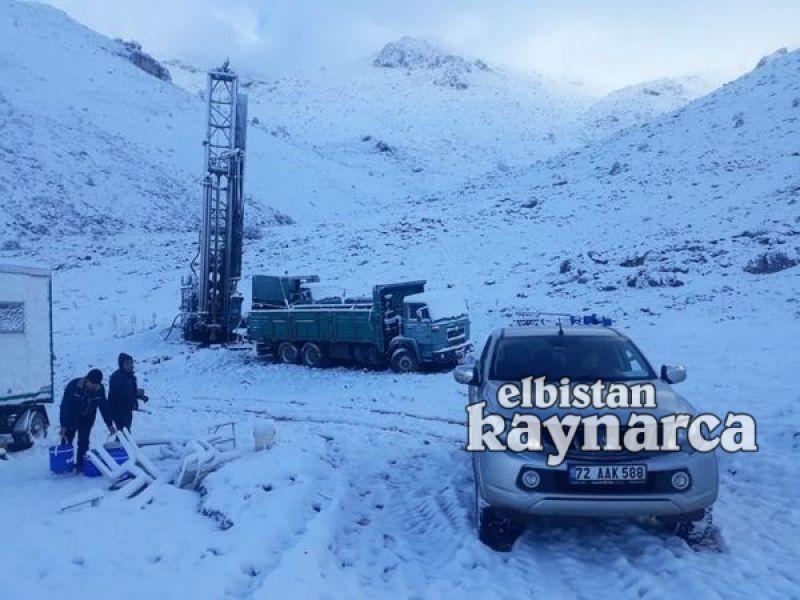 DSİ, yaban hayvanları susuz kalmasın diye dağları deldi