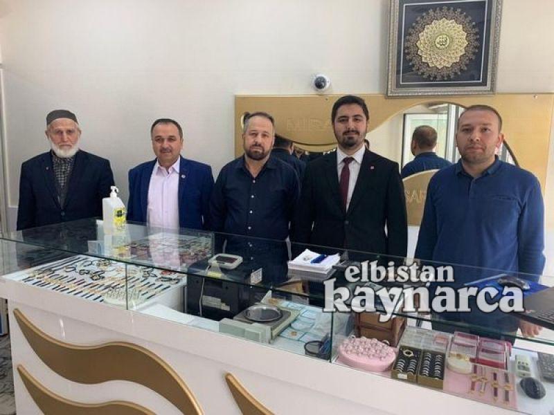 Başkan Zor, Elbistan'da ziyaretlerde bulundu