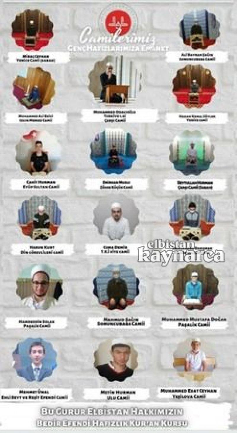 Genç hafızlar, 20 camide Kur'an ziyafeti sundu