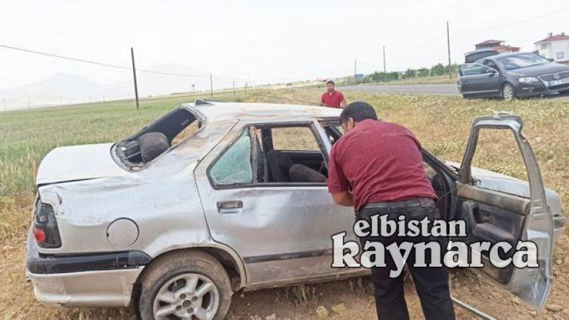Elbistan-Malatya karayolunda kaza: 3 yaralı