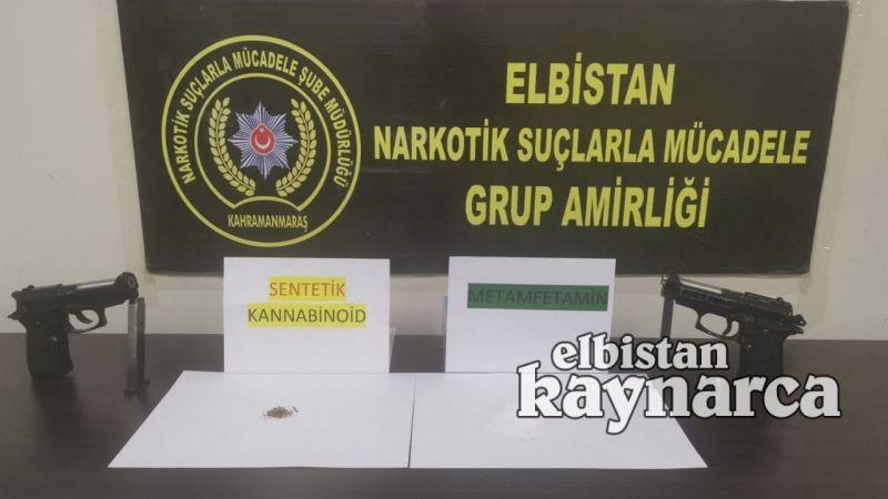 Uyuşturucu ve silah kaçakçılığına 2 tutuklama