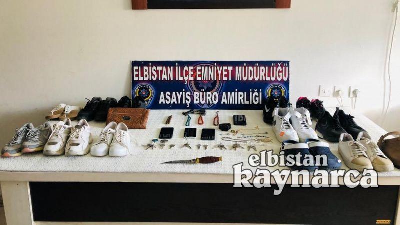 5 ayrı evden hırsızlık ve yağmaya teşebbüs olaylarının failleri tutuklandı