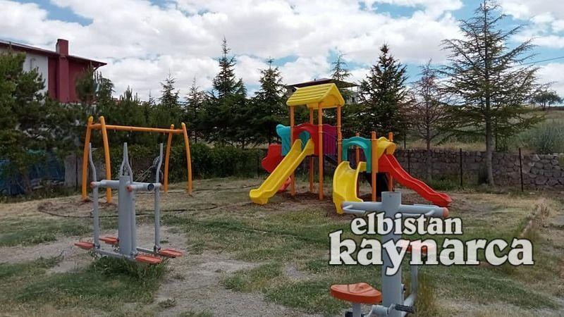 Elbistan Belediyesi'nden 30 mahalleye oyun parkı