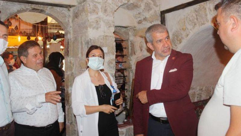 Akdeniz Gazeteciler Federasyonu'ndan KMBGC'ye ziyaret