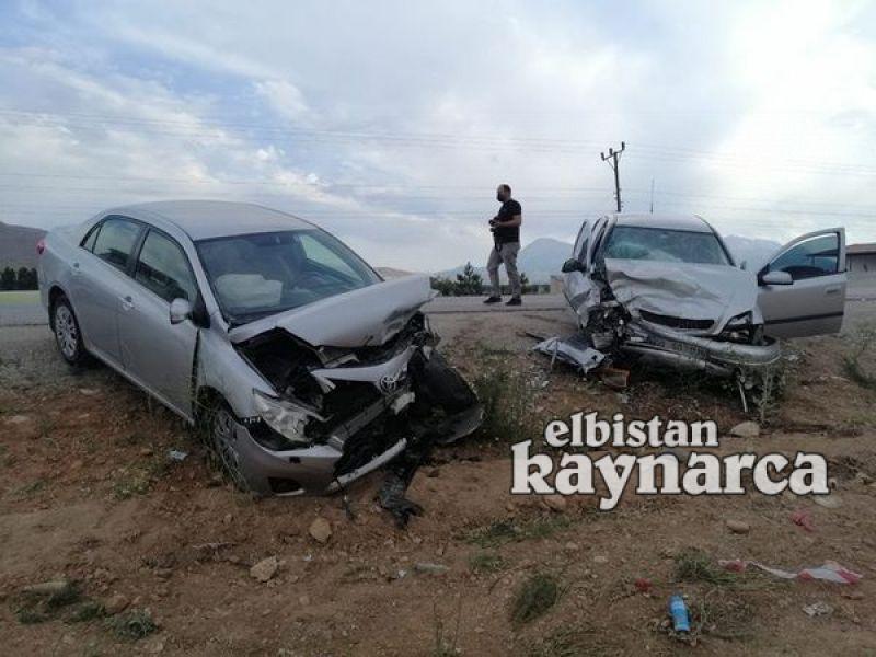 Elbistan-Göksun yolunda kaza: 5 yaralı