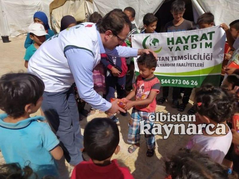 Hayrat Yardım'dan Suriye'ye yardım kampanyası
