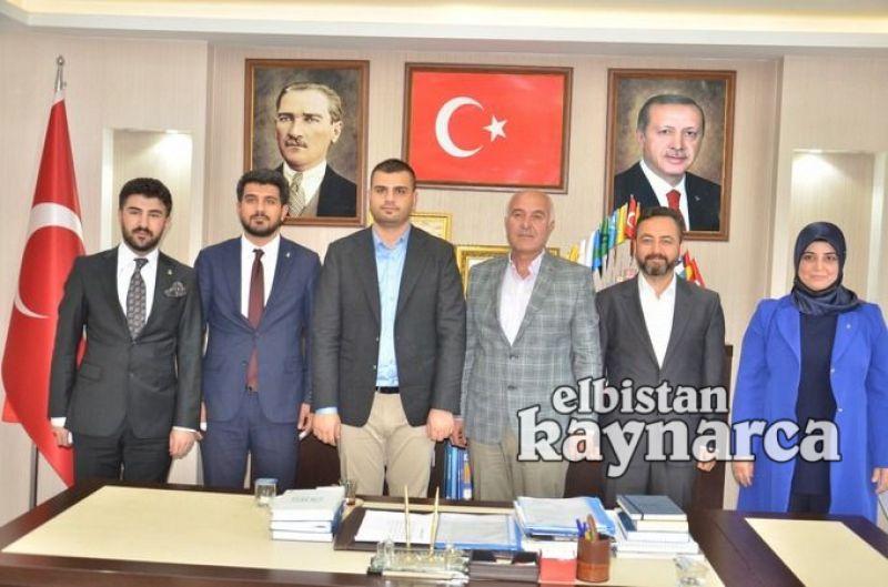 AK Parti Gençlik Kolları Genel Başkanı İnan'dan Elbistan ziyareti
