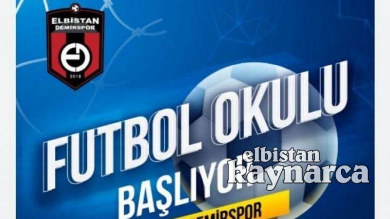 Elbistan Demirspor yaz futbol okulu açılıyor