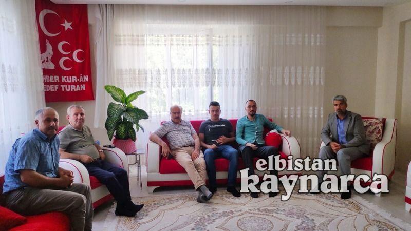 Gazi Mehmetçik'e geçmiş olsun ziyareti