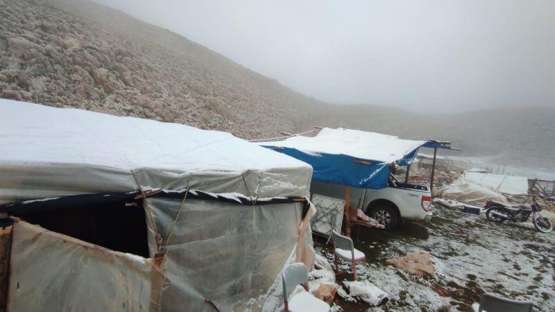 Antalya'nın Kaş ilçesinde yüksek kesimlere kar yağdı