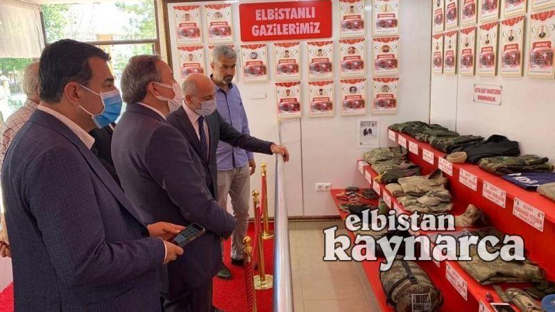 CHP heyetinden Şehit Emanetleri Müzesi'ne ziyaret